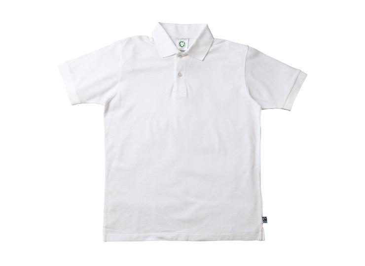 ポロシャツ 白 (Organi&Co. ネーム付)