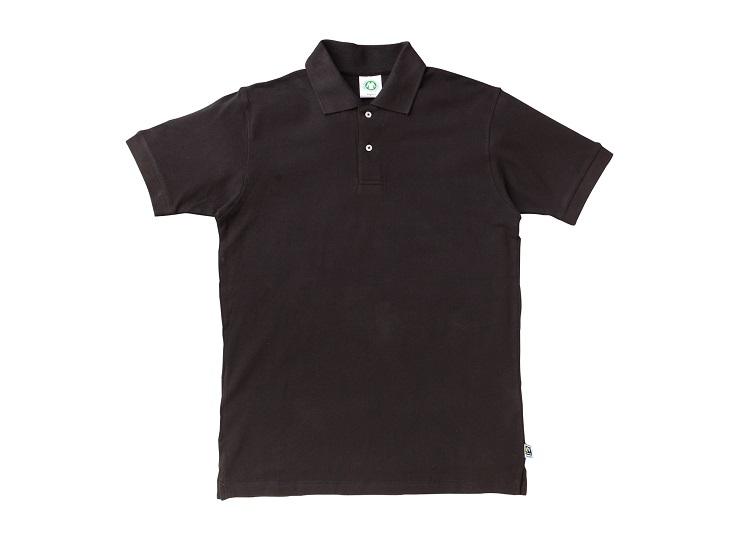 ポロシャツ 黒 (Organi&Co. ネーム付)